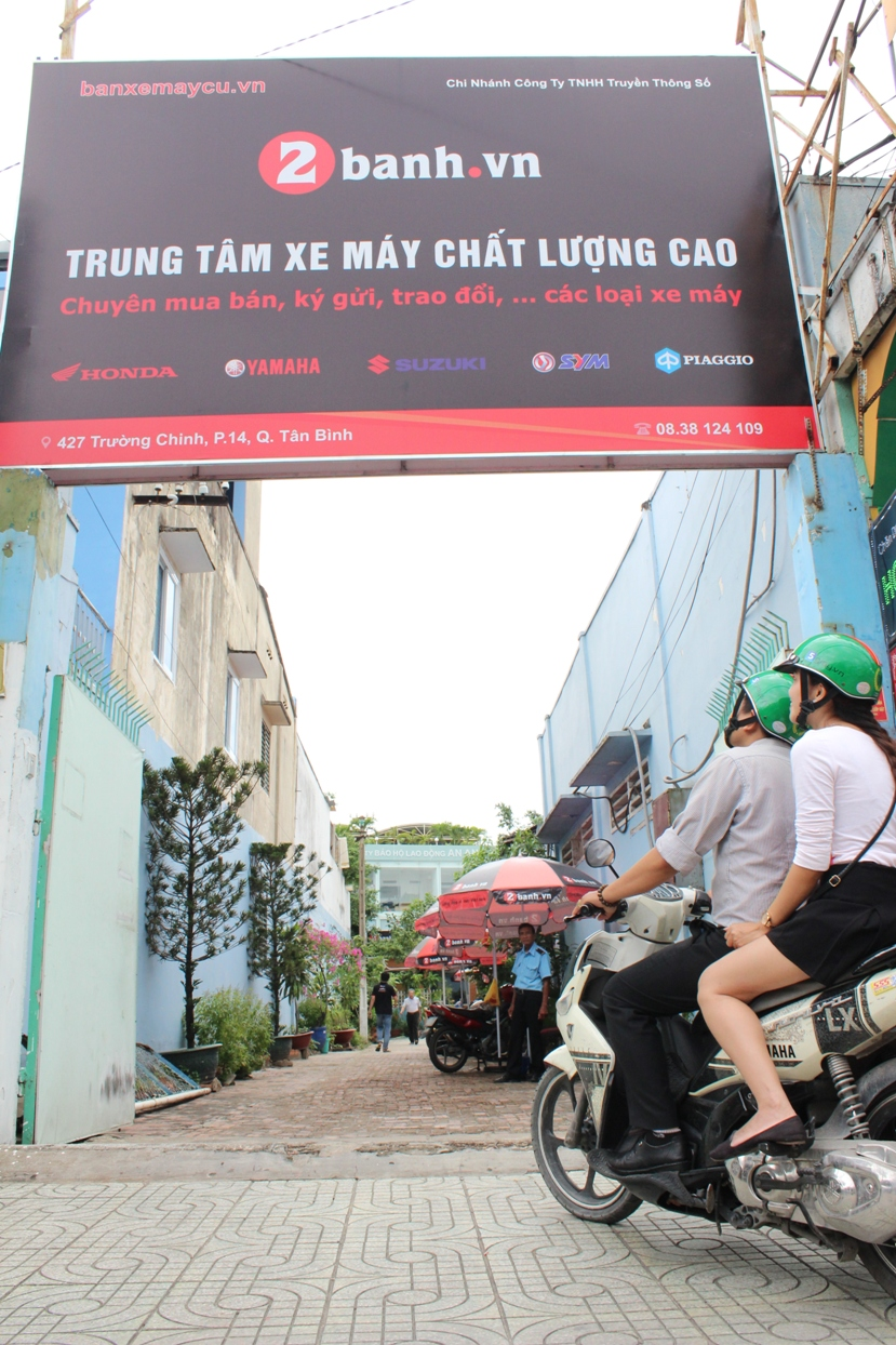2banhvn chinh thuc khai truong trung tam xe may chat luong cao