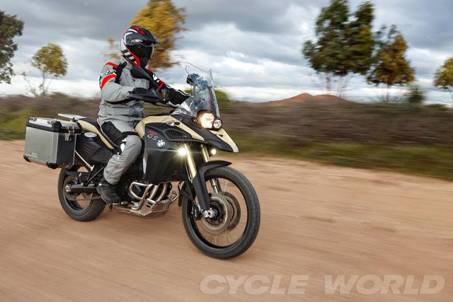 BMW F800GS 2014 xung dang voi ten goi Adventure