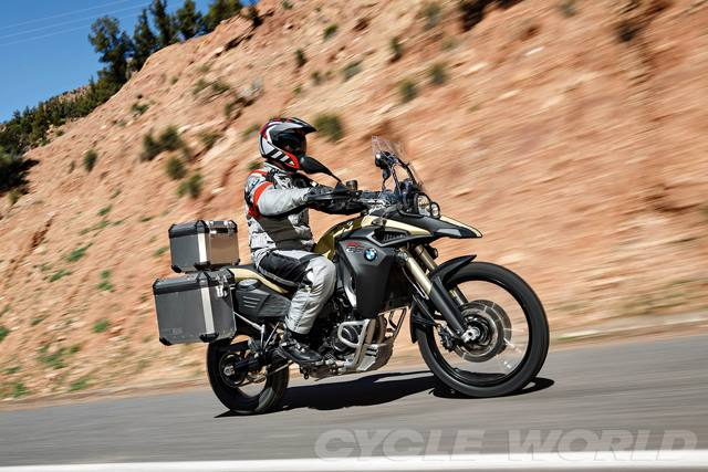 BMW F800GS 2014 xung dang voi ten goi Adventure - 12