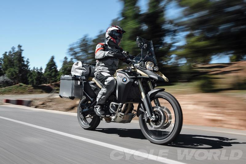 BMW F800GS 2014 xung dang voi ten goi Adventure - 16