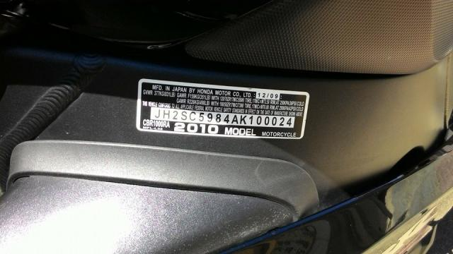 Can Ban CBR 1000RR date 2010 HQCN - 6