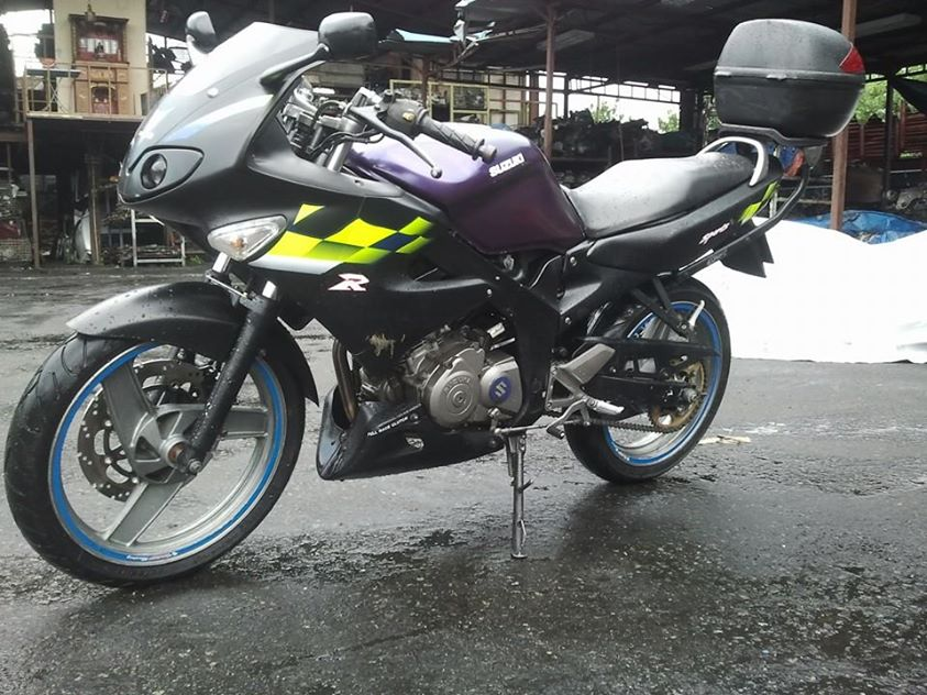 Hinh anh Suzuki FXR150 cong suat 21 ma luc tai dat me - 4