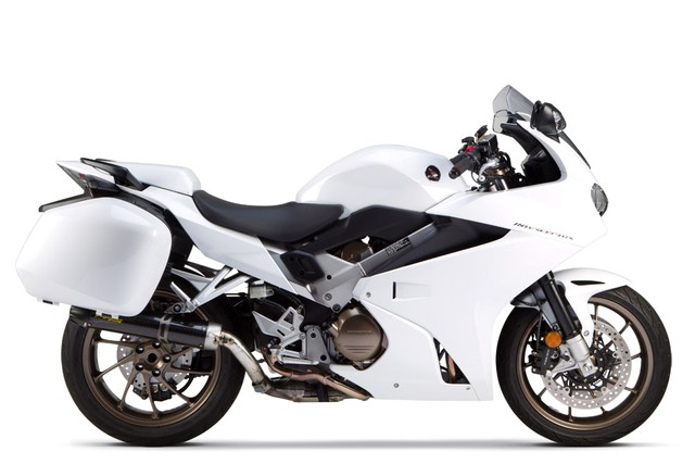 Honda VFR800 Interceptor 2014 do po S1R lam tang ma luc