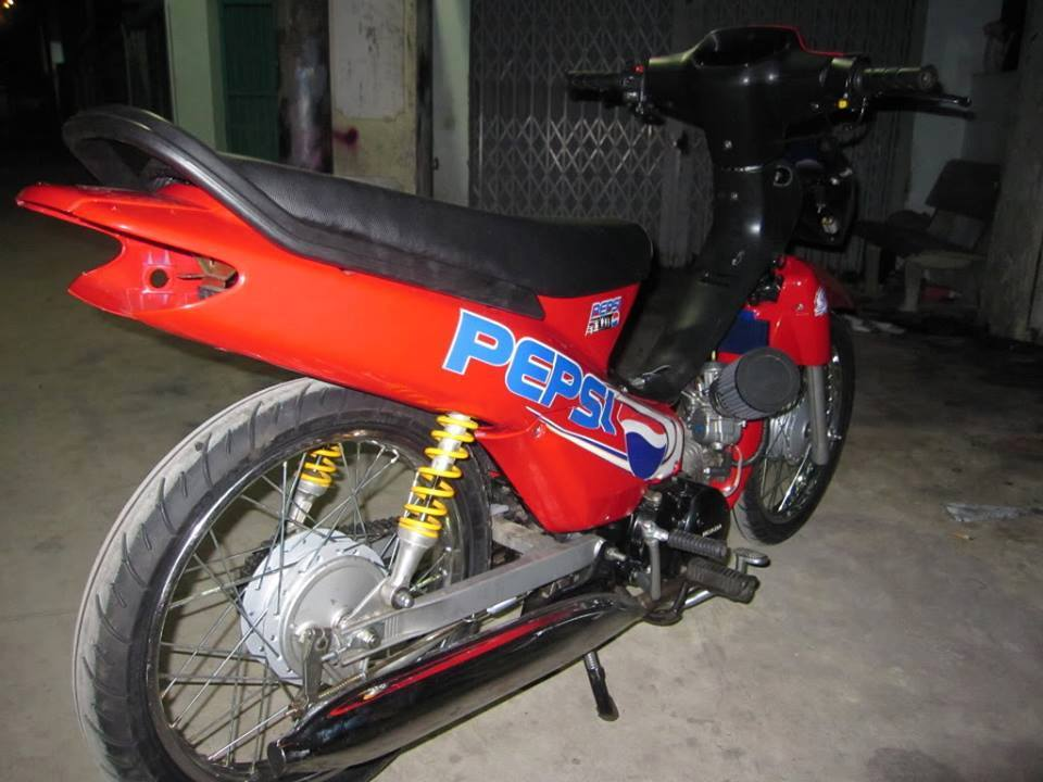 Honda Wave cua doi dua Pepsi Racing Team - 3