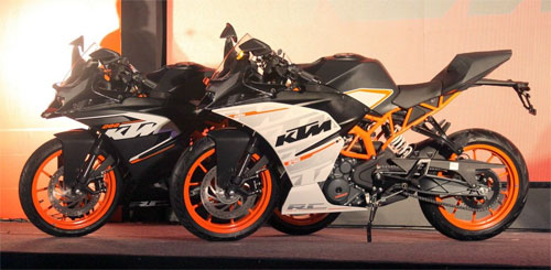 KTM ra mat cap doi RC390 va RC200 tai An Do - 2