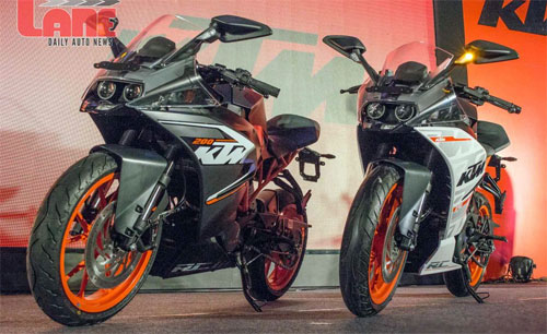 KTM ra mat cap doi RC390 va RC200 tai An Do - 4
