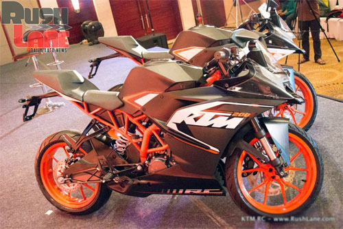 KTM ra mat cap doi RC390 va RC200 tai An Do - 5