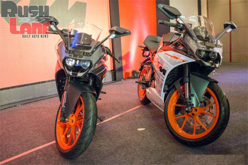 KTM ra mat cap doi RC390 va RC200 tai An Do - 6