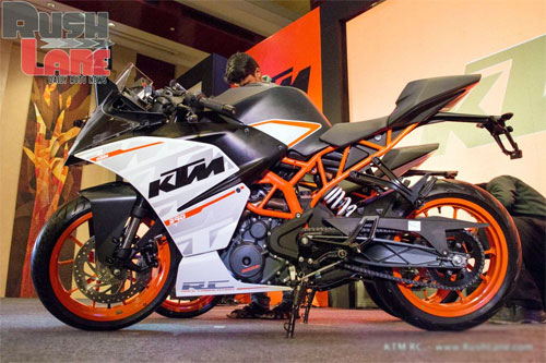 KTM ra mat cap doi RC390 va RC200 tai An Do - 8