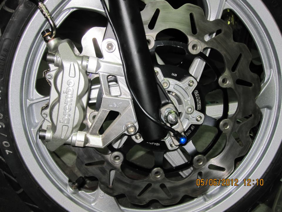Vai hinh anh ve nhung con heo Brembo cung patch