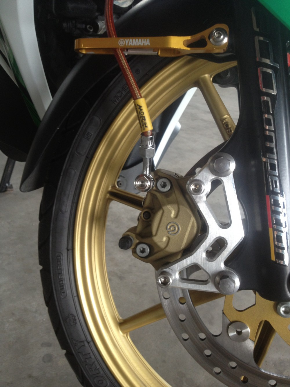 Vai hinh anh ve nhung con heo Brembo cung patch - 7