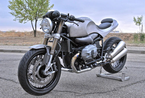 BMW R NineT do cafe racer vo cung ham ho - 2