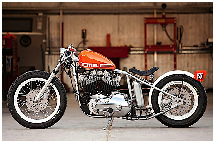 Bobber DP customs do cam den - 2
