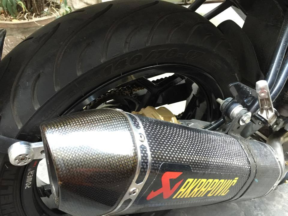 Cap doi Yamaha Fz150i do dep o Sai Gon - 4
