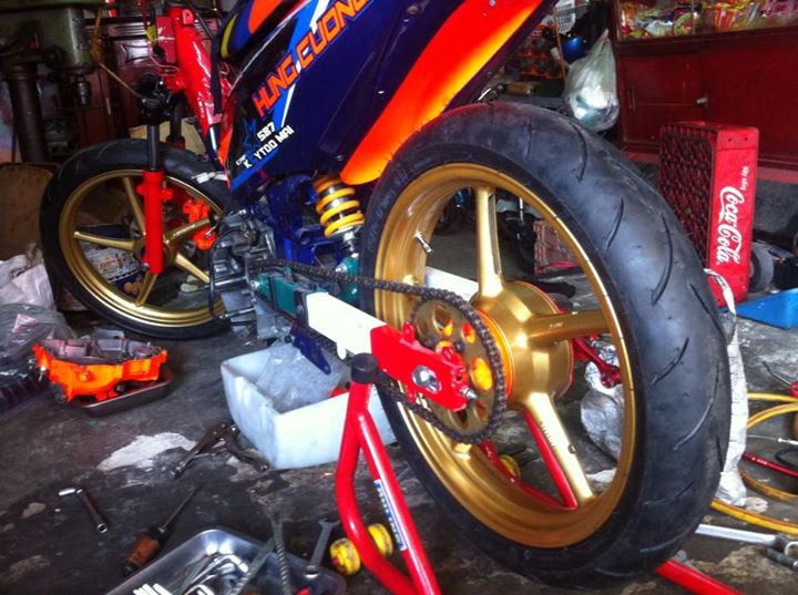 Clip Exciter chay san cua KTD Racing test may