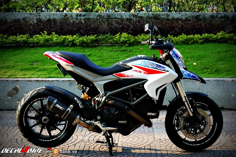 Ducati Hypermotard RB Version dam chat choi