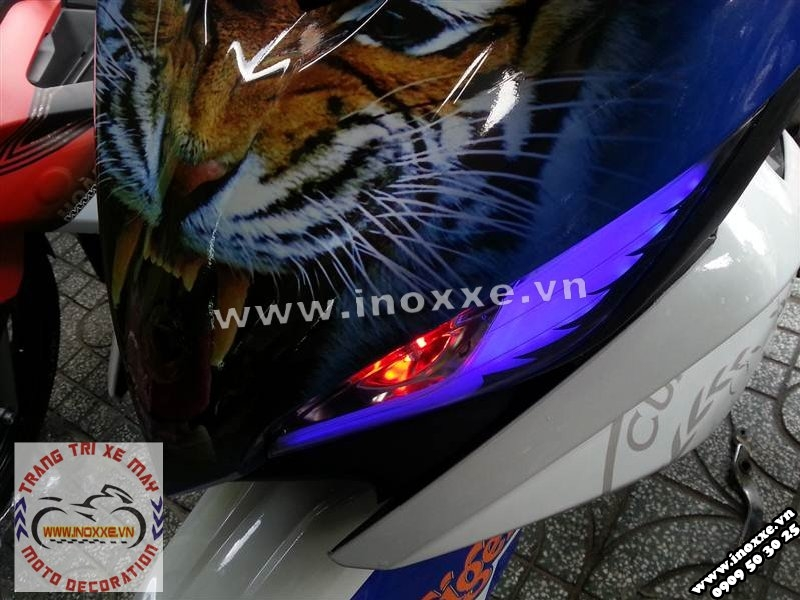 Exciter Tiger phong cach ham ho - 4