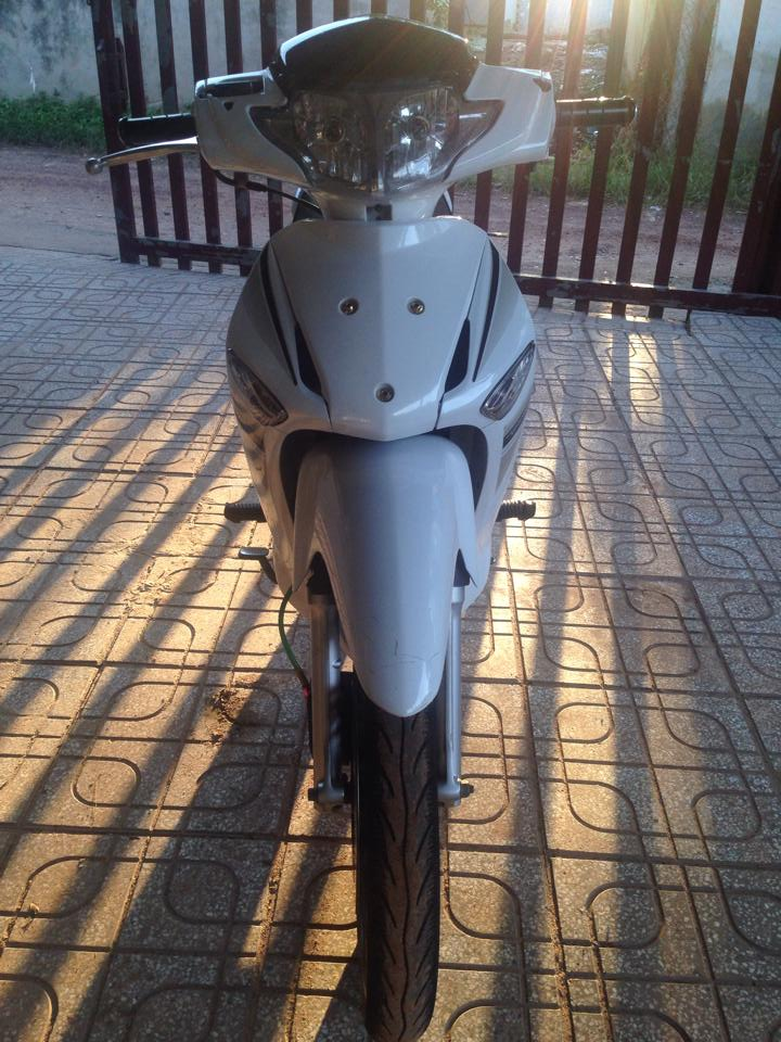 Future neo GT 2006 do Full thanh wave 125i thai - 4