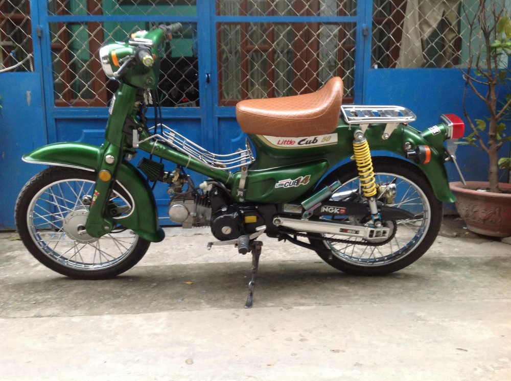 Honda Cub do nhe voi bs du