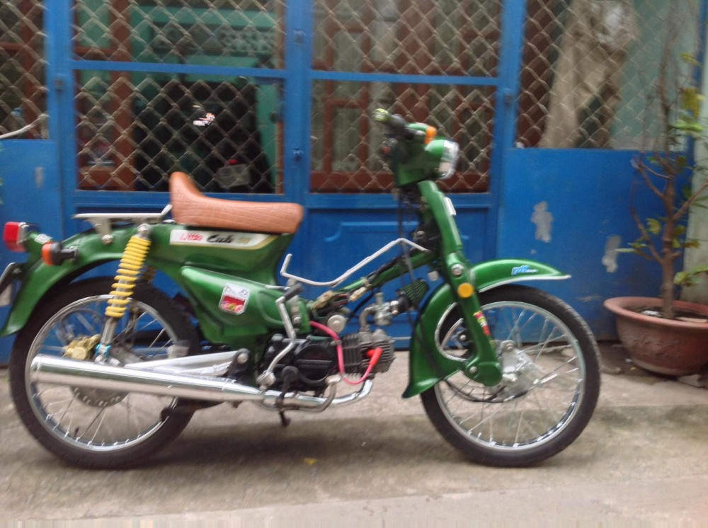 Honda Cub do nhe voi bs du - 2