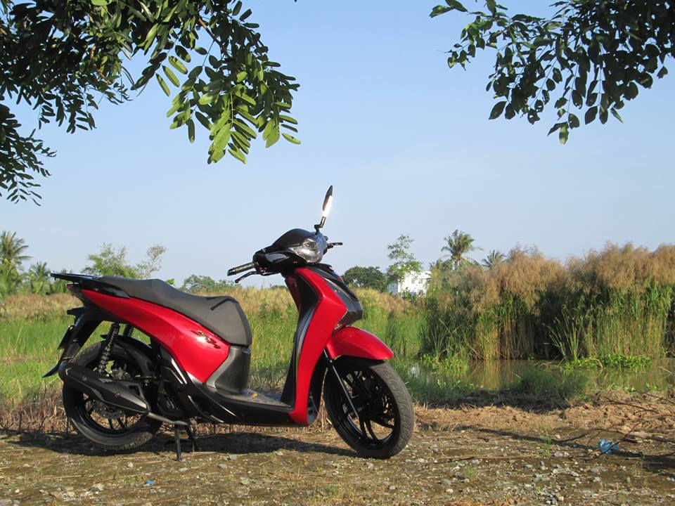 Honda SH do do Candy dep lung linh