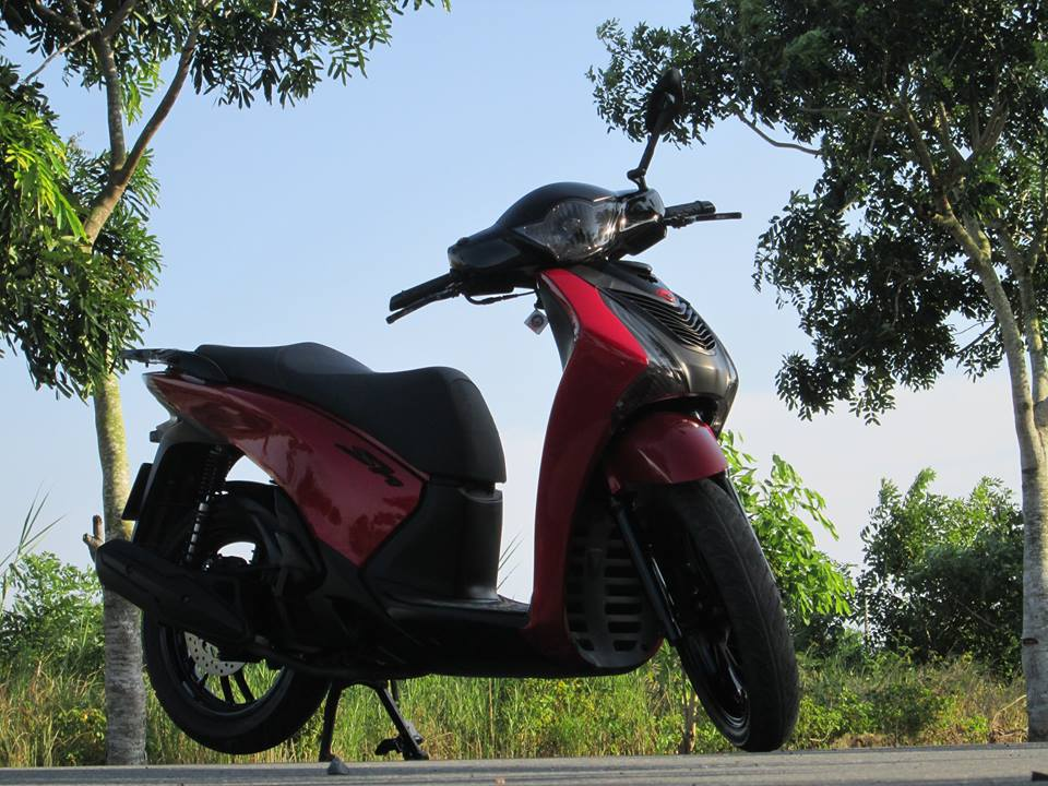 Honda SH do do Candy dep lung linh - 4