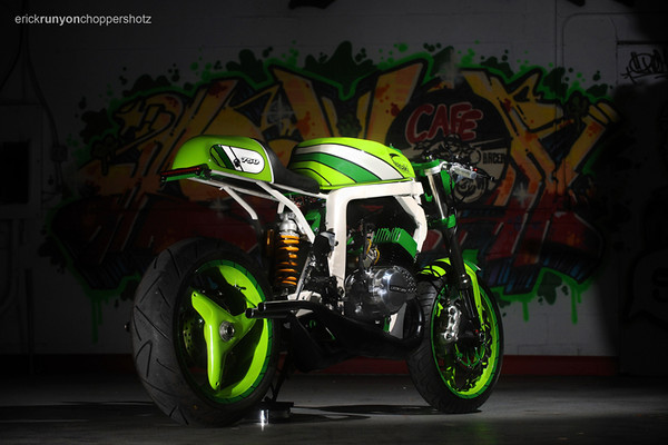 Kawasaki H2 do thanh Norley Cafe - 3