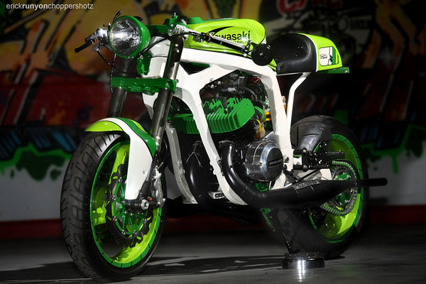 Kawasaki H2 do thanh Norley Cafe - 4