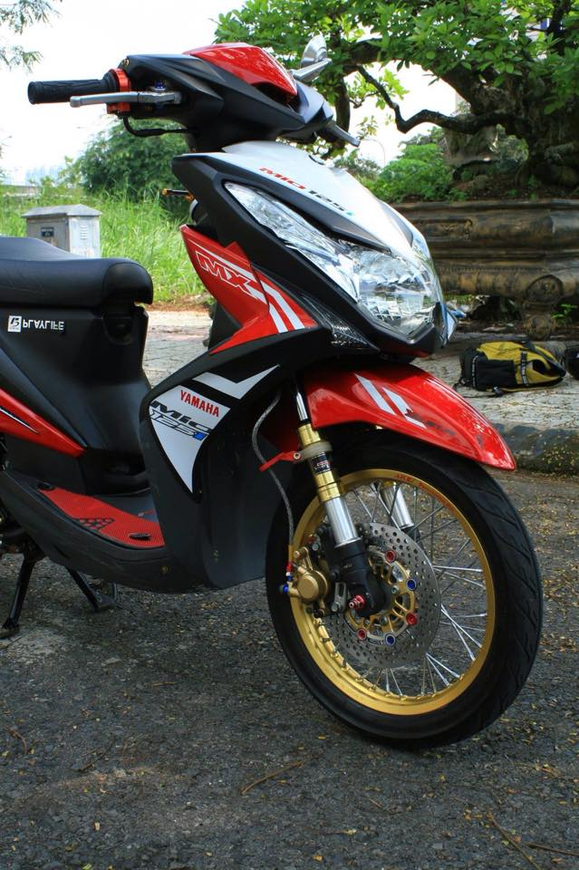 Mio do full giap 125 cuc chat - 5
