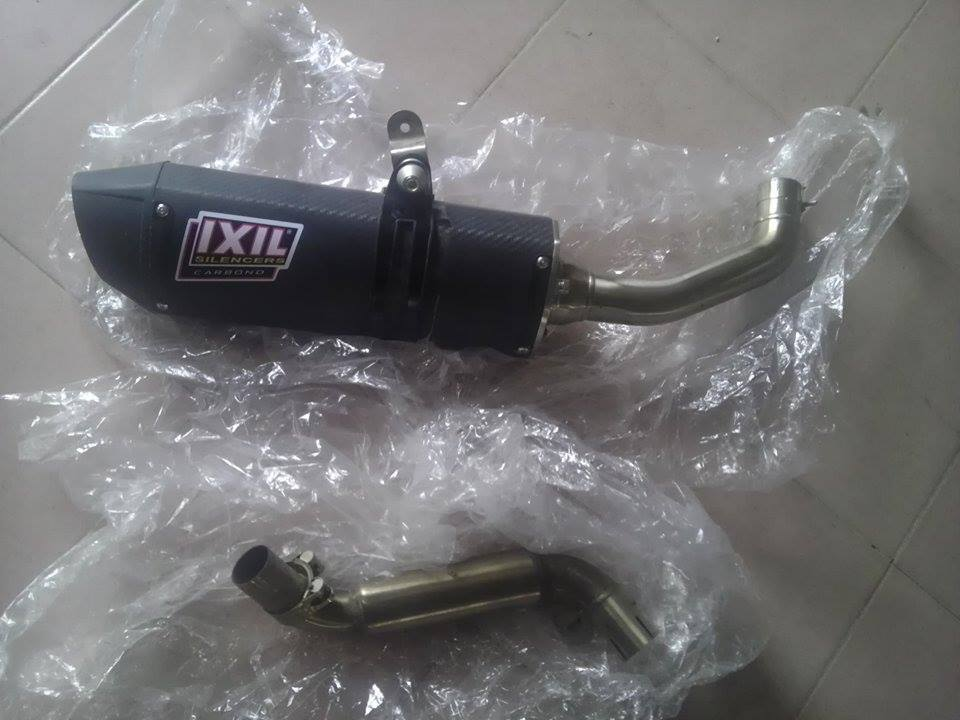 Po Ixil Carbon Exhaust can ban