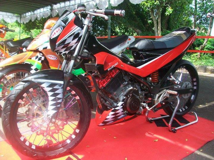 Ngam chiec Suzuki Raider do kha ham ho