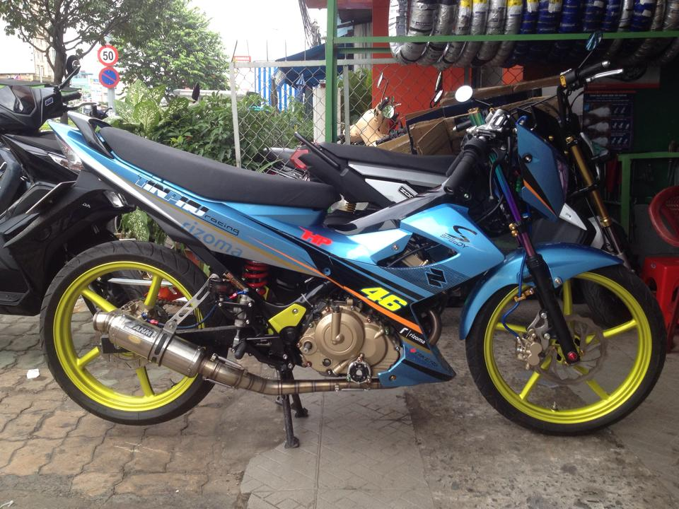 Suzuki Raider 150 do nhe