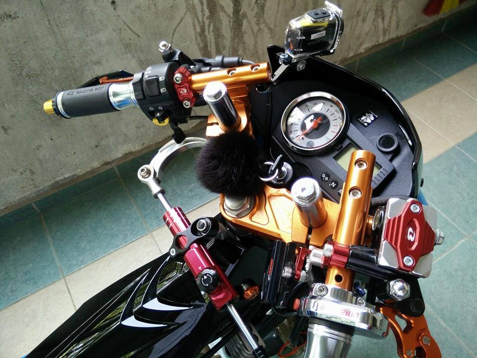 Suzuki Raider cuc chat khi choi full do Racingboy - 2