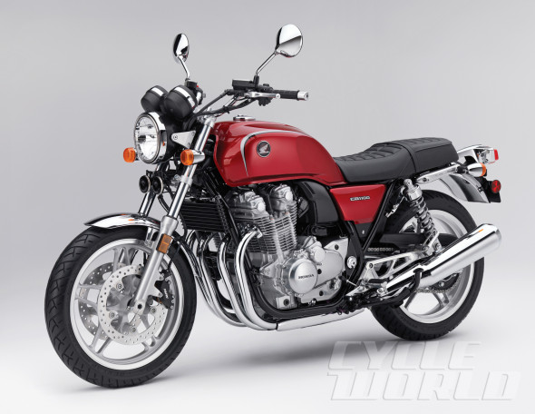 Ban Honda CB1100 Red ABS Deluxe