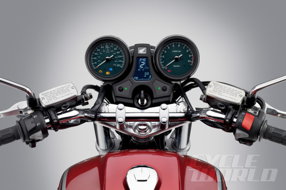 Ban Honda CB1100 Red ABS Deluxe - 2