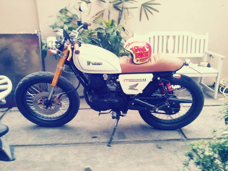 Bonus do cafe racer tracker dep