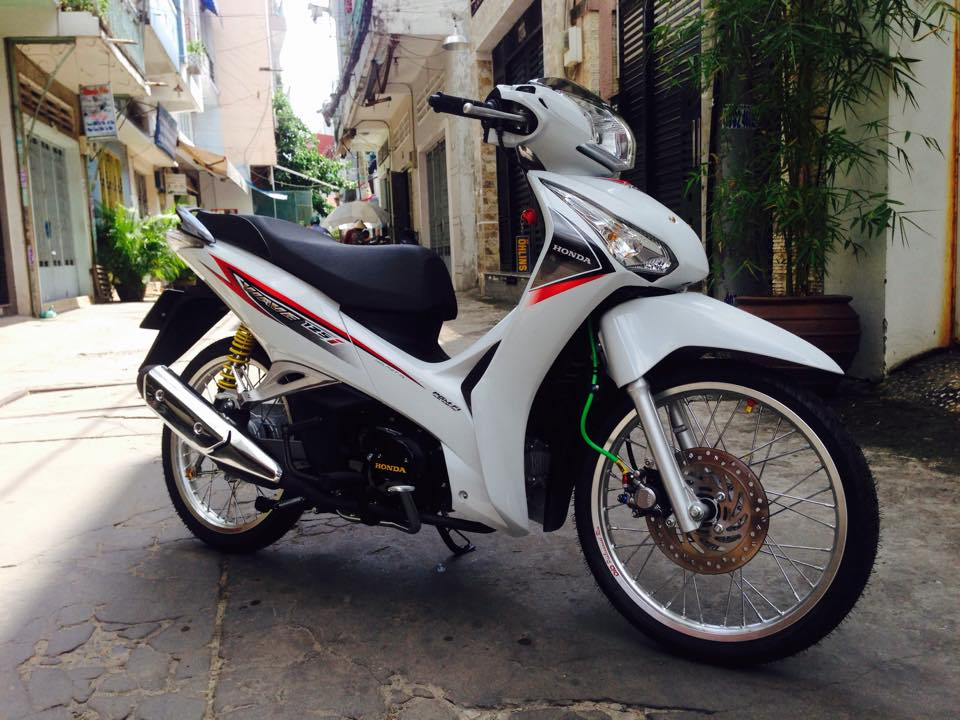 Future di kieng nhe voi phong cach Wave 125i