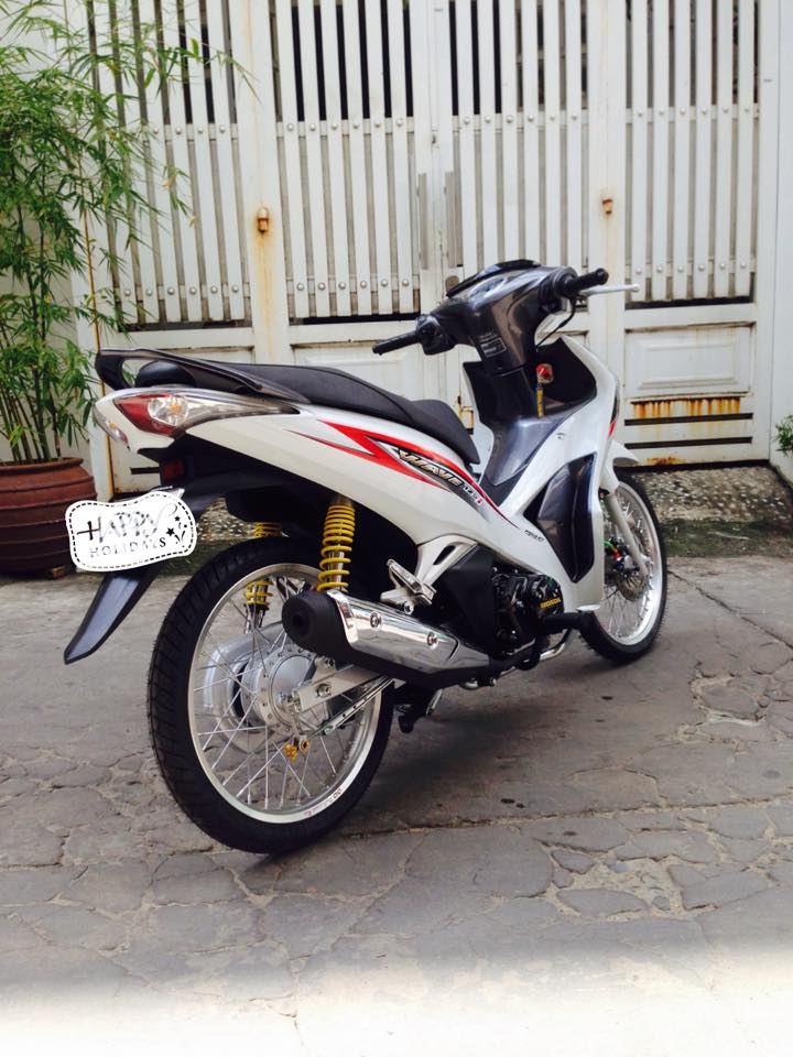 Future di kieng nhe voi phong cach Wave 125i - 4