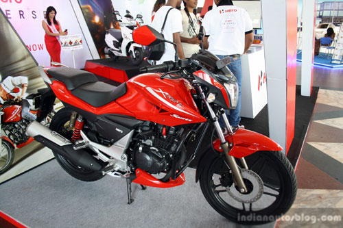 Hero Etreme Sport doi thu Yamaha Fz tai An Do - 8