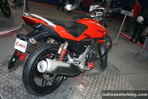 Hero Etreme Sport doi thu Yamaha Fz tai An Do - 9