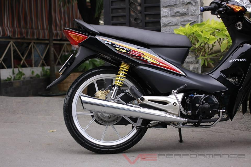 Honda wave Alpha do nhe cho ma di cho - 5