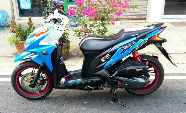 Honda Click 125i do ben Thai Lan - 4