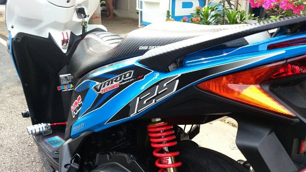 Honda Click 125i do ben Thai Lan - 5