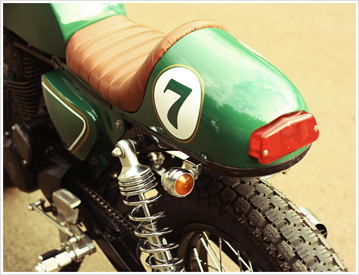 Honda GL200 do Cafe Racer - 2