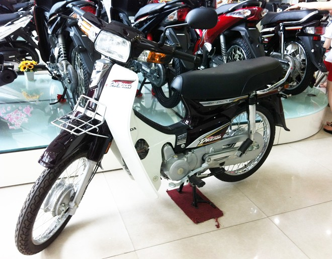 Honda Super Dream 100 day len tren 32 trieu dong - 2