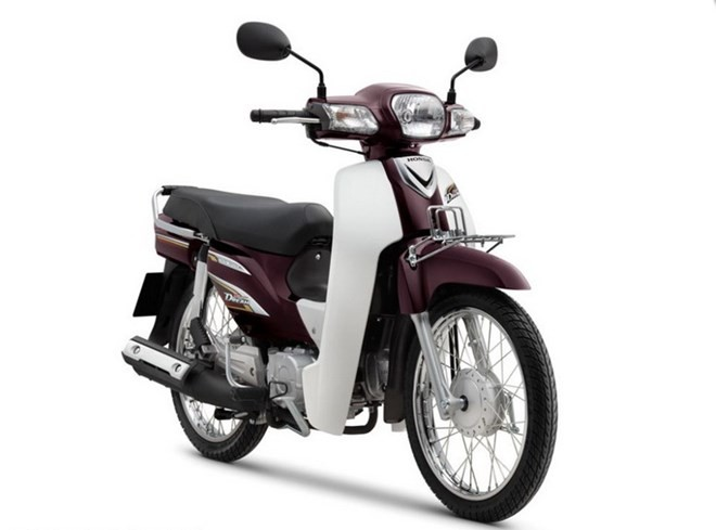 Honda Super Dream 100 day len tren 32 trieu dong