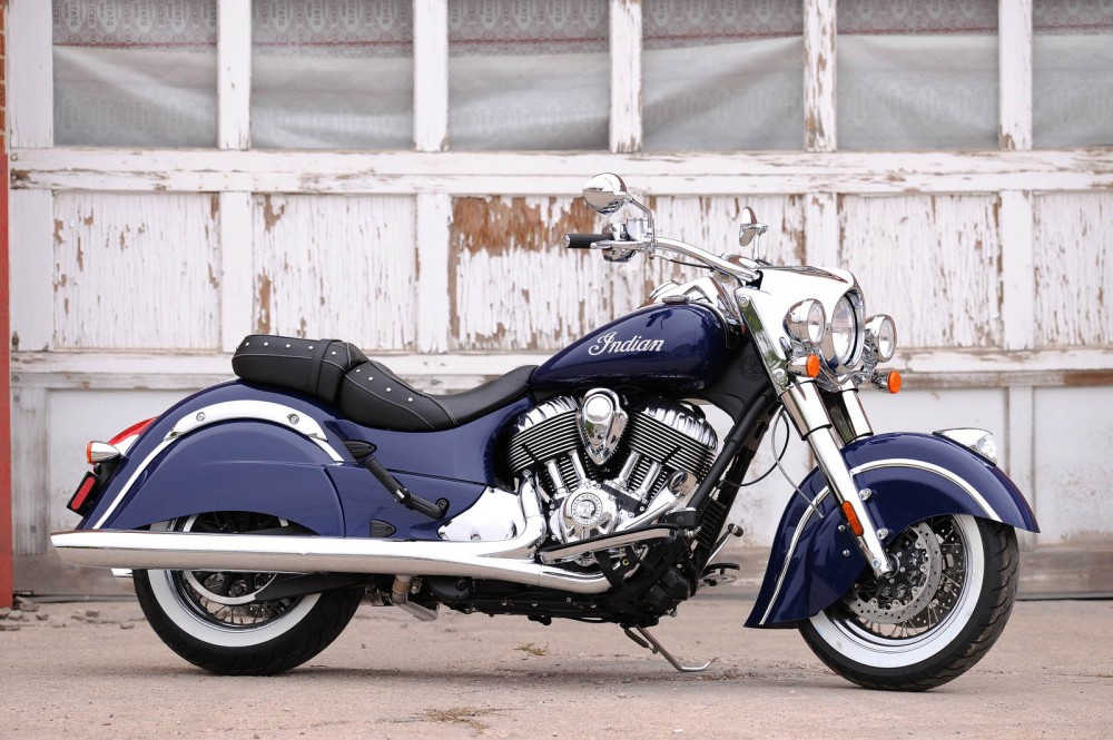 Indian Chief Classic chiec cruiser gia tot nhat nam 2014 - 15