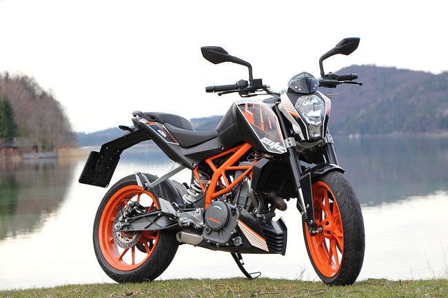 KTM Duke 390 co mat tai My voi gia 4999 USD - 2