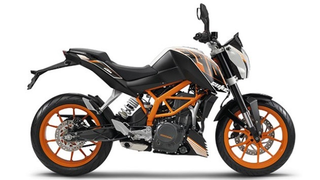 KTM Duke 390 co mat tai My voi gia 4999 USD