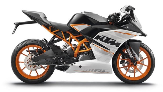 KTM RC390 co gia 5499 USD tai My